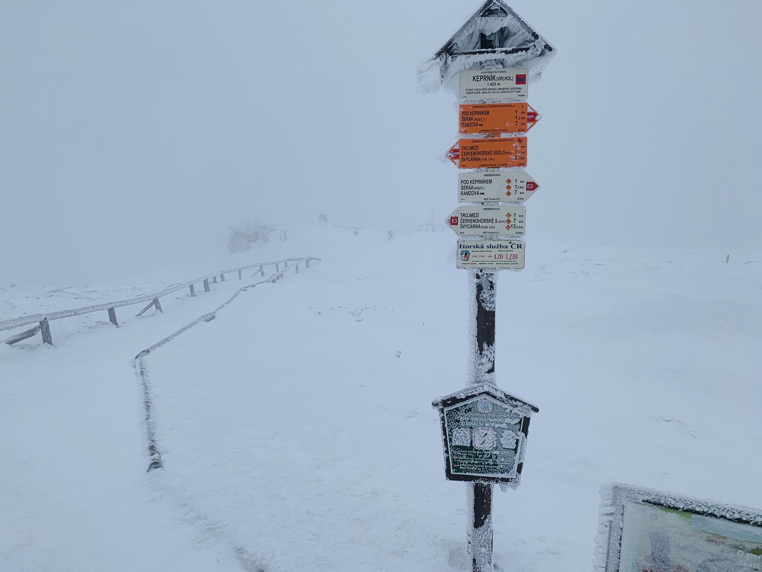 Afternoon hike to Mount Keprnik 1423m