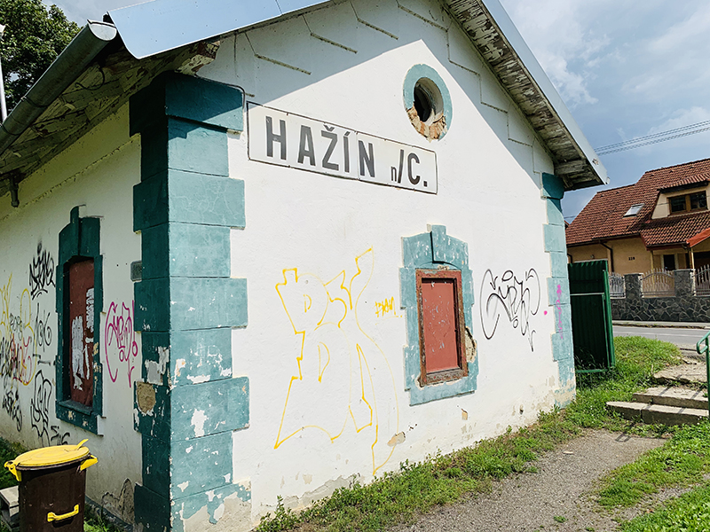 Tip for tasty ice cream in Hazin nad Cirochou