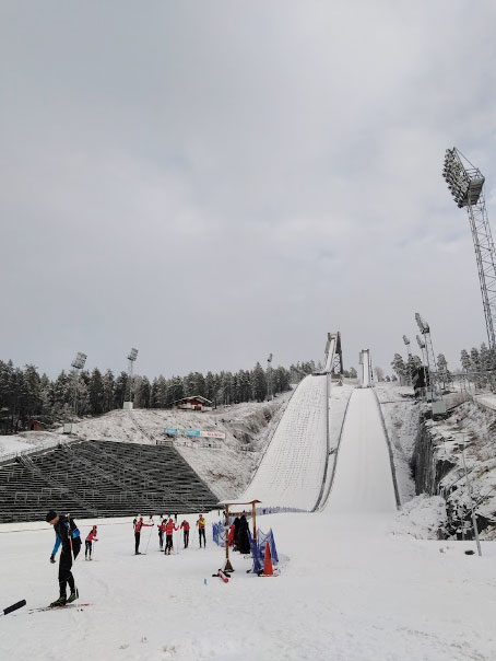 UNESCO World Heritage Site & Ski Jumping Hill