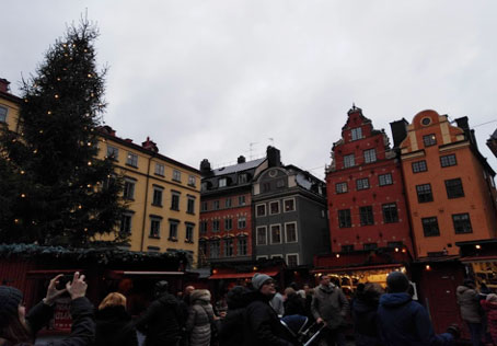 Stockholm - Christmas Market in Old Town